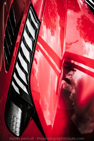 Ferrari na Avenida Europa