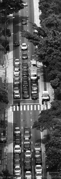 São Paulo vista do Copan