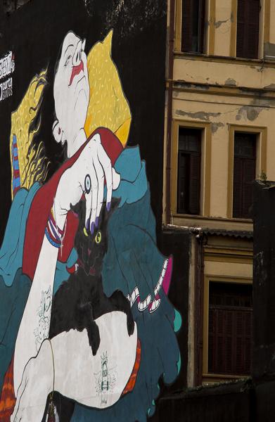 Grafismos em Santos