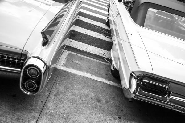Diagonais. Feira de carros da luz